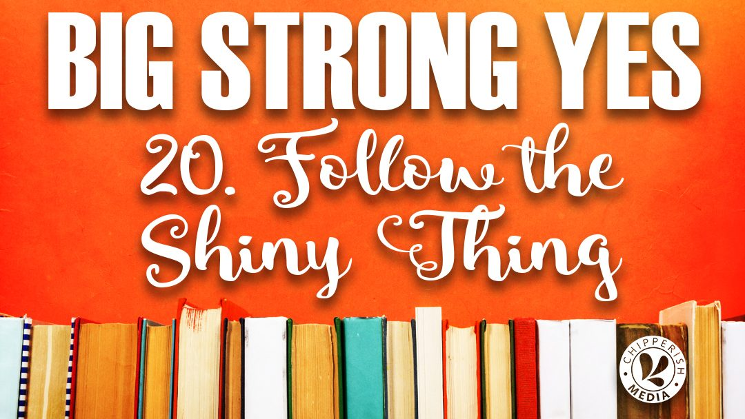 Big Strong Yes #20. Follow the Shiny Thing